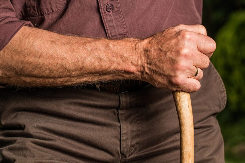 Arm exercises for the elderly