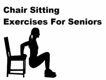 chair sitting exercises for seniors