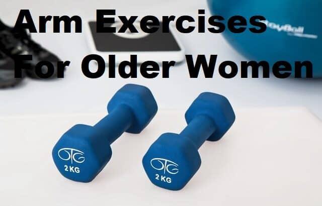 arm exercises for older women